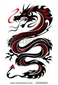Red n Black Dragon
