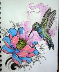 humming bird artr