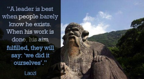 Laozi on leadership