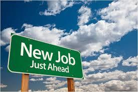 New Job Sign